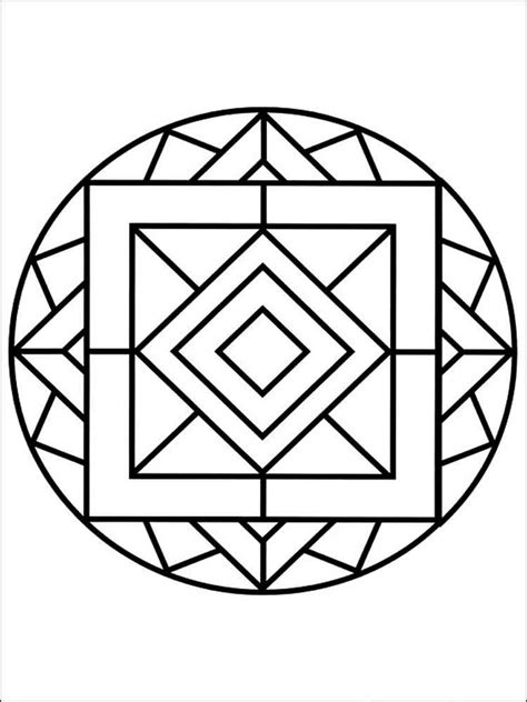 coloring pages for adults simple simple mandala coloring pages for adults free printable