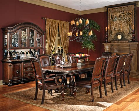 large dining room set large wood dining room table home design ideas