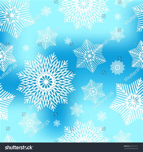 abstract snowflakes seamless pattern background royalty abstract decorative blue white christmas seamless stock