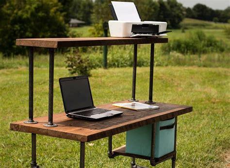 reclaimed wood desk computer desk home office desk barn