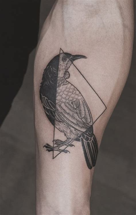 geometric tattoo nz 22 best norse raven tattoos