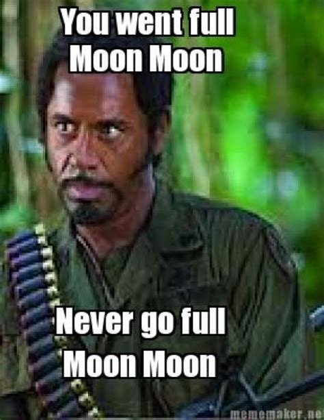 Meme Full - moon moon meme