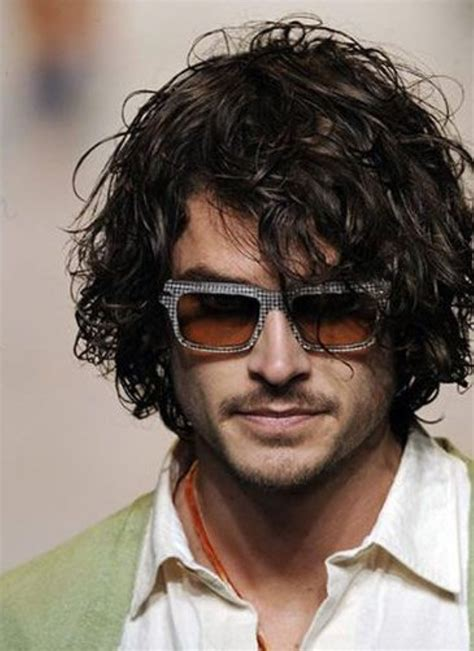 mens hairstyles casual and loose curly style long hair styles for men long hair men pinterest