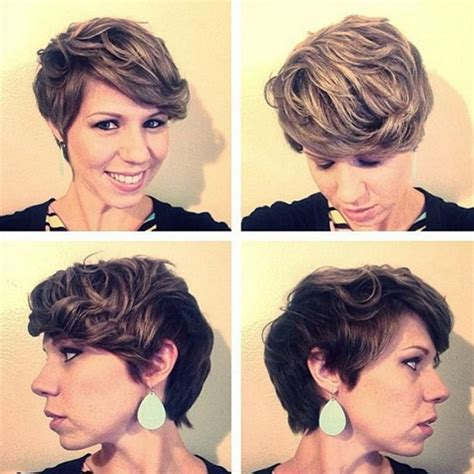 stacked pixie with long bangs 21 stunning long pixie cuts short haircut ideas for 2018