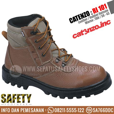 sepatu safety catenzo ri 010