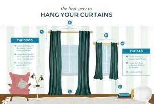 Properly Hang Curtains Decorating Hanging Curtains All Wrong Emily Henderson