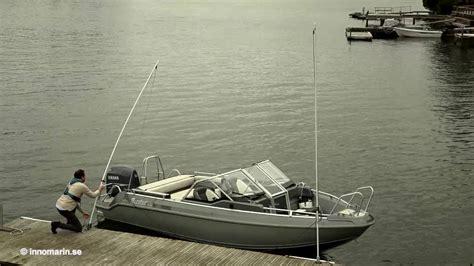 boat mooring whips innomarin mooring whips youtube