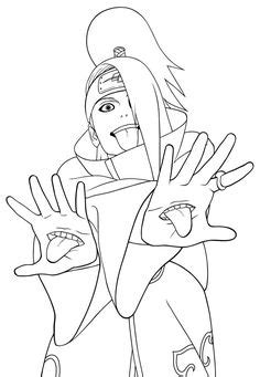 156 Best naruto coloring pages images in 2019 | Dibujo