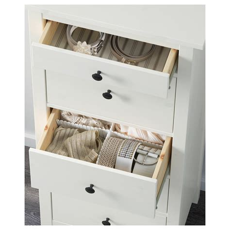Hemnes Chest With 5 Drawers by Hemnes Chest Of 5 Drawers White Stain 58x131 Cm
