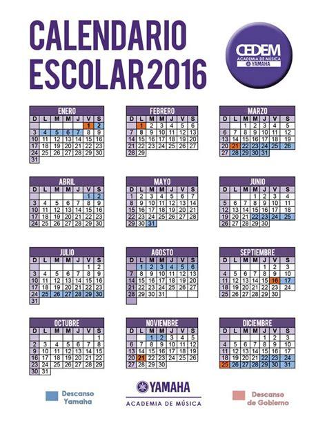 Calendario Oficial Calendario Oficial Cedem Yamaha
