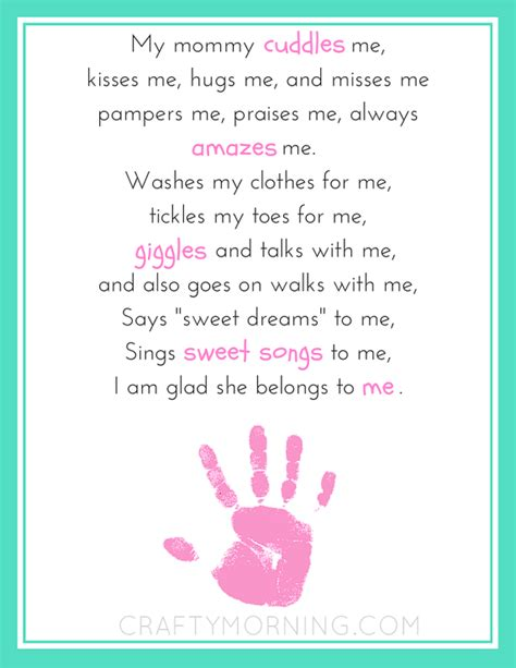 printable mother quotes mommy belongs to me printable poem for mother s day