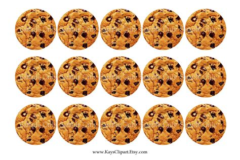 Cookie Clipart Printable Pencil And In Color Cookie Clipart Printable Printable Cookie Template
