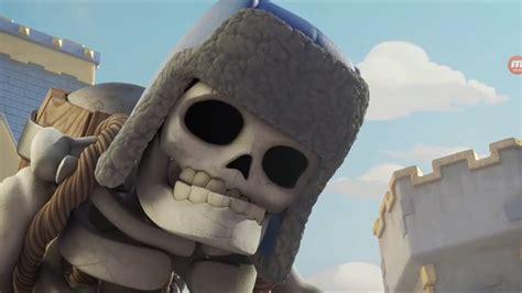 misin clash un esqueleto clash royale animazione scheletro gigante youtube