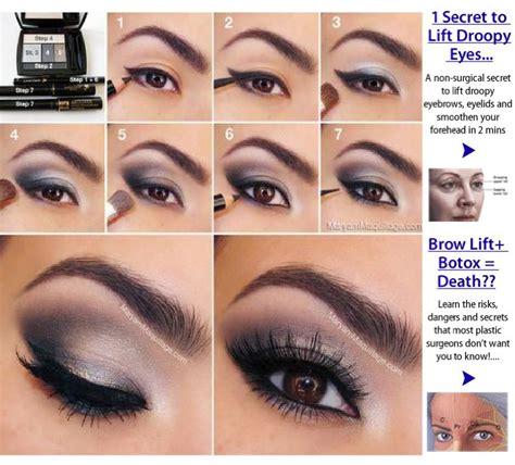 Eyeliner Tutorial For Droopy Eyes   makeup tips for heavy eyelids mugeek vidalondon