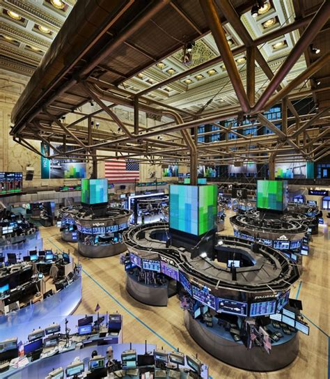 Nyse Floor by Photos Of The Nyse Floor