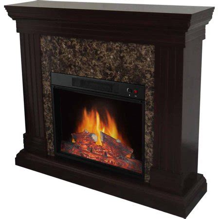 decor electric space heater fireplace with 44