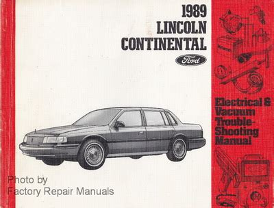 how to download repair manuals 1989 lincoln continental mark vii parental controls 1989 lincoln continental electrical and vacuum troubleshooting manual original evtm factory