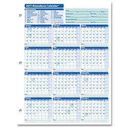 Employee Attendance Calendar Template by Monthly Employee Attendance Calendar Sheets Blank Forms