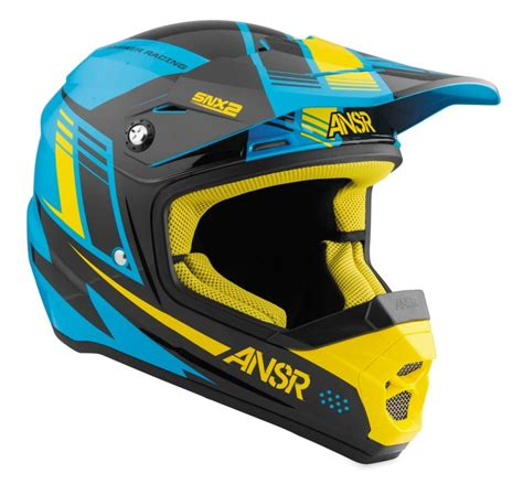youth small motocross helmet 78 40 answer youth snx 2 motocross mx helmet 995019