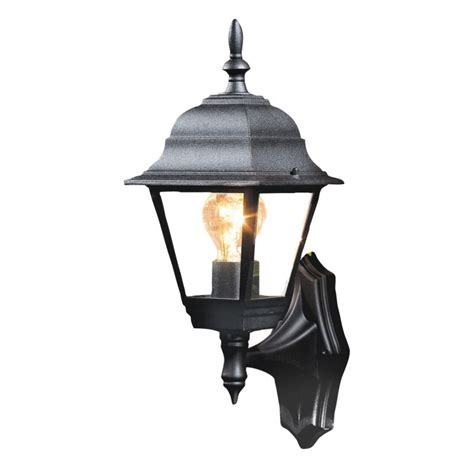 Outdoor Wall Lights B Q B Q Penarven Outdoor Wall Light In Black Wall Light Review Compare Prices Buy