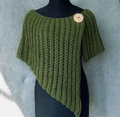 knitted poncho for knitted poncho asymmetrical and beautiful for