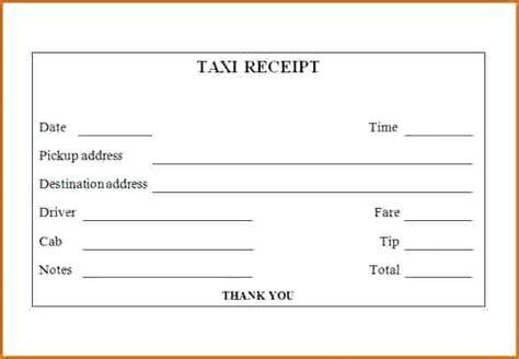 taxi invoice template taxi invoice template receipt template taxi receipt