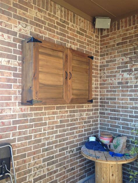 outdoor tv wall 25 best ideas about outdoor tv cabinets on pinterest