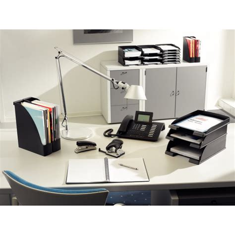Office Supplies Plus Leitz Plus Slim Letter Tray Black 52370095