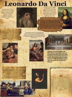 biography of leonardo da vinci and his inventions leonardo di ser piero da vinci was an italian renaissance