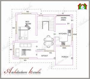 3 Bedroom House Kerala Plans Architecture Kerala Plan 183 Low Medium Cost House