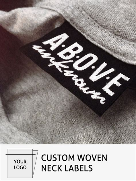 Relabelling Custom Clothing Tags And Labels Fire Label Woven Label Template