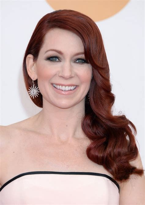haircuts for women over 40 with red coloer red hair for women over 40 carrie preston long red side