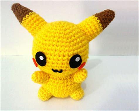 amigurumi pattern free pokemon ravelry pikachu pokemon amigurumi pattern by erin huynh