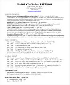 Pilot Resume Exles by Pilot Resume Template 5 Free Word Pdf Document