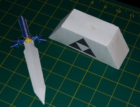 Master Sword Papercraft - master sword 2 oot papercraft by sinkigobopo on deviantart