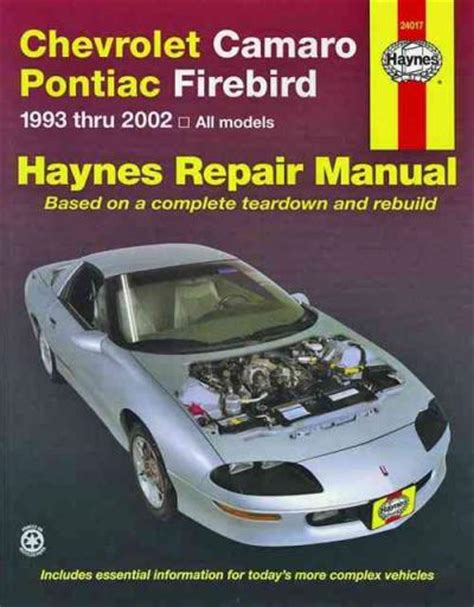 best auto repair manual 1997 pontiac firebird lane departure warning chevrolet camaro and pontiac firebird repair manual online autos post
