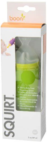 Boon Spoon Green boon silicone baby food dispensing spoon green