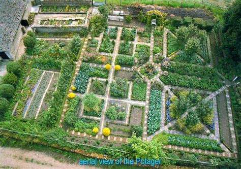 potager garden layout gardens