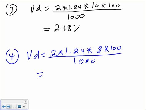 voltage drop on resistor formula voltage drop 2 u 8 10 18 10 wmv