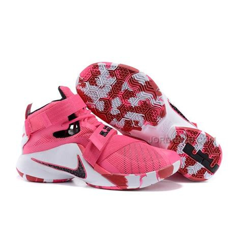 nike lebron soldier 9 quot think pink quot hyper pink black white