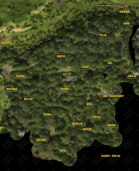lotro old forest map 指环王online 指环王ol 17173中国网络游戏第一门户网站