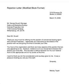 business offer letter template 7 free word pdf format
