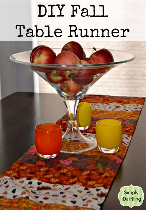 fall table runners to featured fall table runner tutorial sewtorial