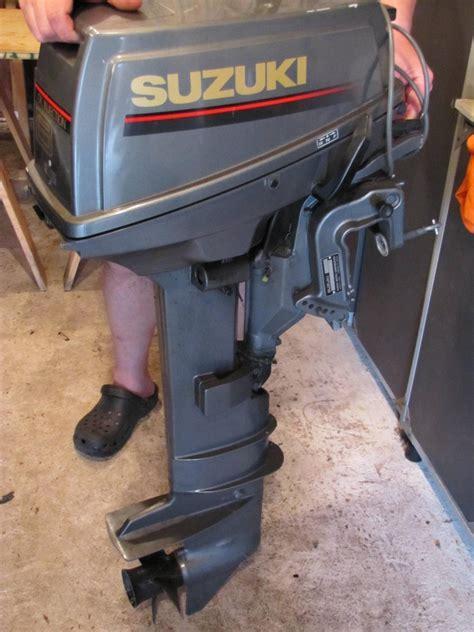 1994 suzuki 8 hp kicker motor bloodydecks