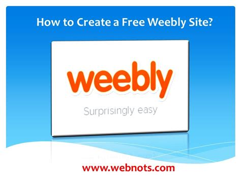 How To Create A Free Weebly Site 187 Webnots | how to create a free weebly site youtube
