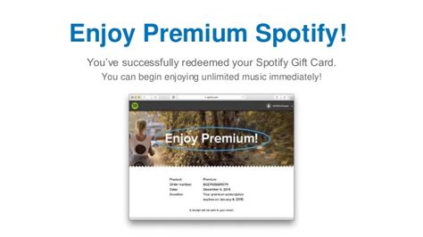 How To Use Your Spotify Gift Card - how to redeem a spotify gift card