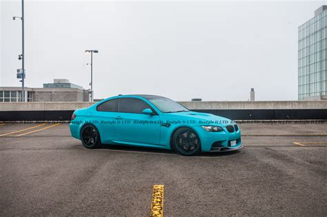teal car matte teal bmw m3 vehicle customization shop vinyl car