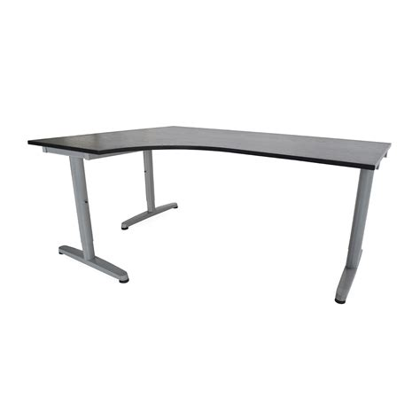 85 Off Ikea Galant Corner Desk Tables Ikea Galant Corner Desk