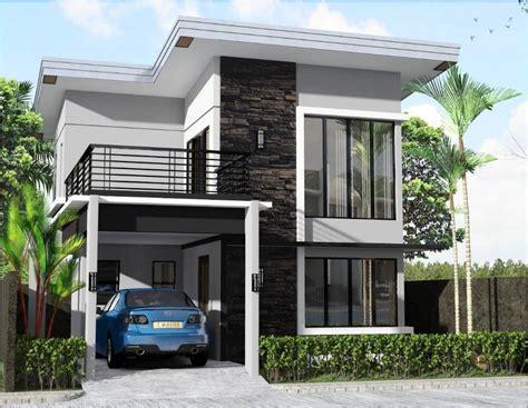 desain rumah sederhana lantai indah pesona rumah