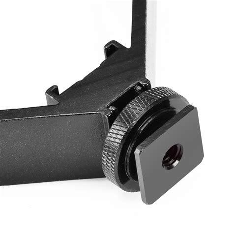Lu Flash Blitz 4 5 Cm neewer 16 4cm v form flash bracket blitzschuh halterung cold shoe mount ebay
